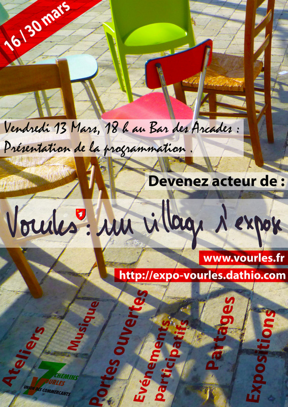 affiche vourles un village s'expose copie